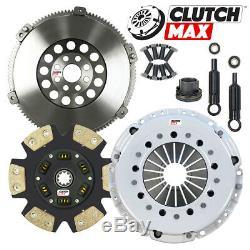 CM Stage 4 Clutch Kit + Solid Flywheel 92-99 Bmw 323 325 328 E36 2.5l 2.8l 6cyl