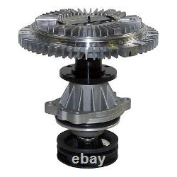 Engine Water Pump with Fan Clutch GMB 115-0002