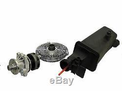 Fan Clutch Water Pump Coolant Recovery Tank 3 and 5Series 5E36 E46 E53 E34 E39