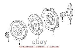 For BMW Genuine Clutch Friction Disc 21212226958