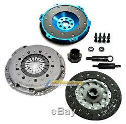 Fx Hd Clutch Kit+10.4lbs Alum Flywheel For Bmw 325 328 525 528 M3 Z3 E34 E36 E39