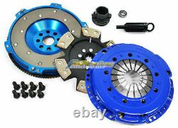 Fx Rigid Clutch Kit & 10.4 Lbs Aluminum Flywheel For 92-98 Bmw 325 328 E36 M50