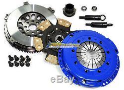 Fx Stage 3 Clutch Kit + Chromoly Flywheel For Bmw 325 328 525 528 M3 Z3 E34 E36