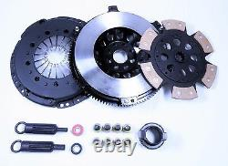 JDK BMW 323 328 525 528 Z3 M3 STAGE3 CERAMIC 6 Puck Clutch Kit & XLITE-Flywheel