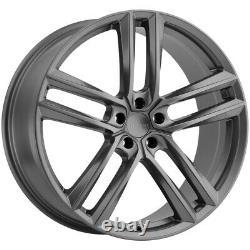 Milanni 475 Clutch 20x9 5x120 +35mm Gunmetal Wheel Rim 20 Inch
