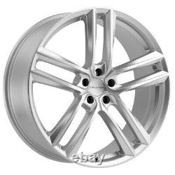 Milanni 475 Clutch 22x9 5x120 +35mm Silver Wheel Rim 22 Inch
