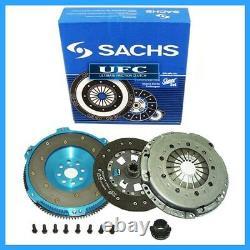 Sachs Super Clutch Kit & 6061 Aluminum Race Flywheel 95-99 Bmw M3 E36 S50 S52