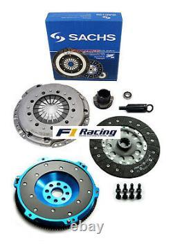 Sachs-fx Sport 1 Clutch Set & Aluminum Flywheel For 92-98 Bmw 325 328 E36 M50